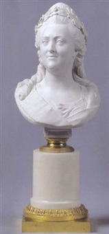 zarin katharina ii. by dominique or antoine jacques rachette