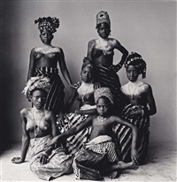 six young dahomey by irving penn