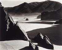 garrapata beach, california by brett weston