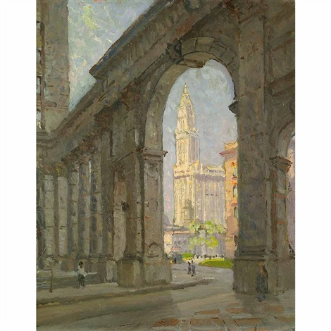 woolworth building new york city by colin campbell cooper