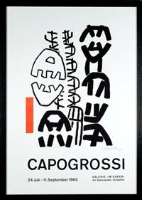 manifesto litografico by giuseppe capogrossi