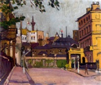 leicester square by evelyn abelson
