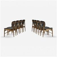 dining chairs model 402.5 (set of 8) by finn juhl