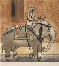 elephant ride by arun bose
