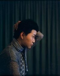 tv portraits - yuko tokyo and annie burwell (2 works) by paul graham