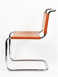 spoleto chairs (6 works) by attilio bersanelli