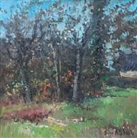 autunno in strada montolino by dino aliberti