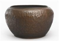 monumental warty vase by dirk van erp
