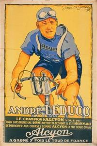 andré leduc pour les cycles alcyon by jean a. josse