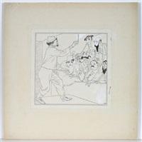 karikatur (der zauberer) by karl august arnold
