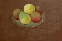 frutas no prato by carlos scliar
