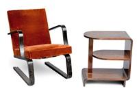 armchair with table (set of 2) by maija heikinheimo