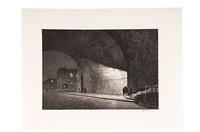 arch, midnight by martin lewis