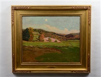 rolling hills landscape by ben foster