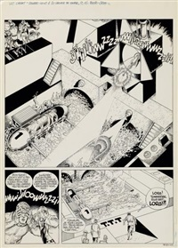 luc orient planche originale n°16 by greg and eddy paape