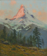 matterhorn by charles partridge adams