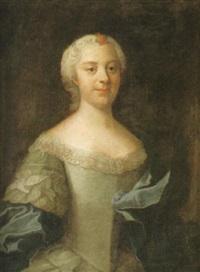 porträtt baronessan anna regina horn af åminne by olof arenius