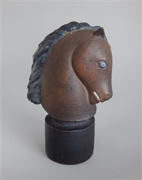 horse head by waylande gregory
