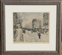 untitled - winter cityscape (1) by t. frantisek simon