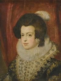 portrait of isabel de borbón by diego rodríguez de silva y velásquez