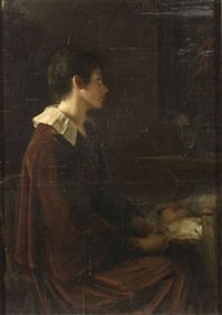 the young mother by frank hector tompkins