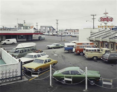 5th street and broadway eureka ca by stephen shore