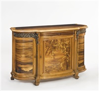 cabinet by émile gallé