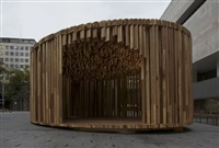 sclera pavilion (for size + matter project) by david adjaye