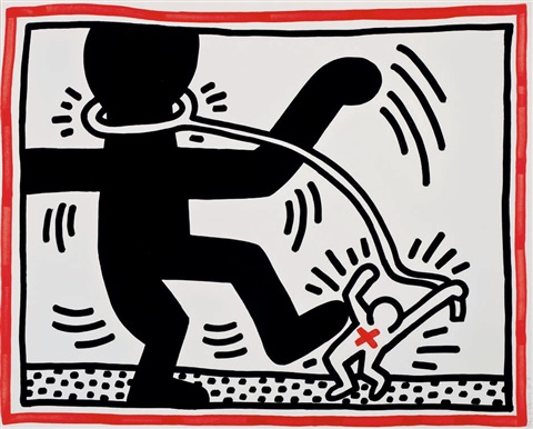 untitled 2 free south africa by keith haring