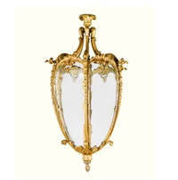 an edwardian lantern by thomas chippendale