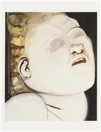 m (+ m; set of 2 works collab. w/ marlene dumas) by marijke van warmerdam
