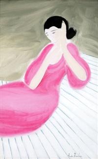 la robe rose by andré brasilier