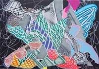 hudson river valley (from frank stella, new sculpture, hudson river valley series) by frank stella
