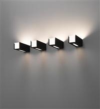 wall lights, model no. 249/1 (set of 4) by gino sarfatti