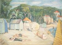 sur la plage by anny lierow