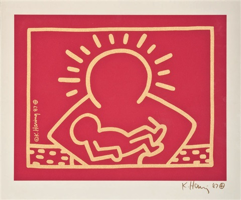 a very special christmas by keith haring