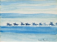 cheval de la mer by andré brasilier