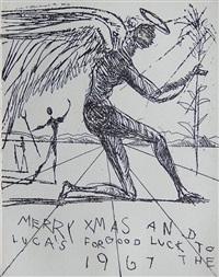 merry xmas by salvador dalí