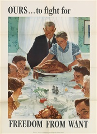 the four freedoms by norman rockwell