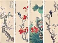 四季花鸟 by xie zhiliu