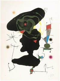 oda a joan miro (1973) by joan miró