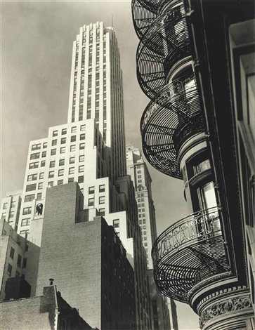 murray hill hotel from park avenue and 40th street manhattan by berenice abbott