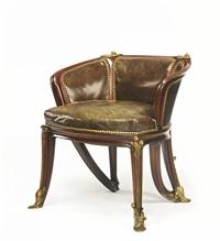 nénuphars chair by louis majorelle