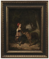 little red riding hood by louis simon cabaillot lassalle