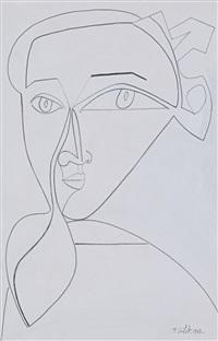 self portrait viii by françoise gilot