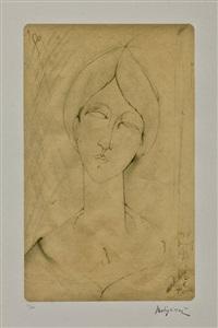 volto di donna by amedeo modigliani