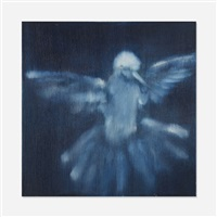 untitled (bird) by ross bleckner