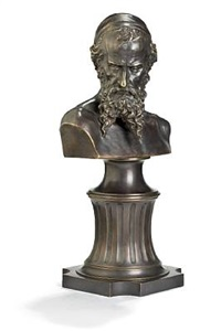 nathan the wise, bust by mark matveevich antokolsky