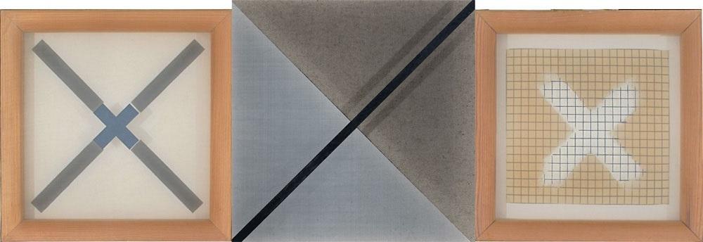 untitled triptych by benni efrat