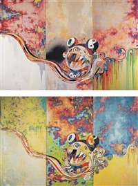 727-727 (+ 727-272; 2 works) by takashi murakami